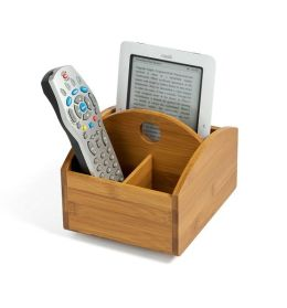 Bamboo Remote Control Holder (5 7/8