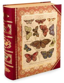 Large Butterfly Book Box
