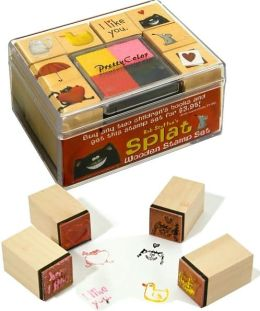 Splat Wooden Stamp Set