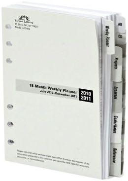 2011 Refill 7'' Organizer 6 Ring 18 Month Calendar