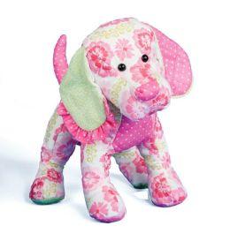 Doll Pink Floral Dog