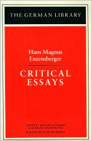 Critical Essays (The German Library Series, Vol. 98)
