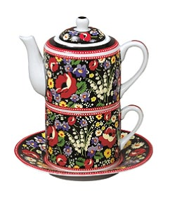 Vera Bradley Poppy Fields Tea for One