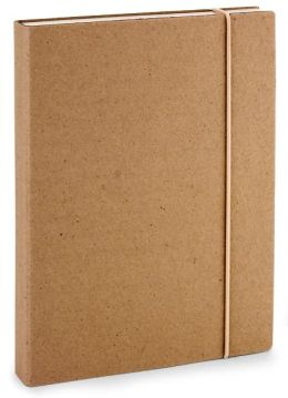 Sand 100% Recycled Paper Italian Lined Bound Journal 6 X 8