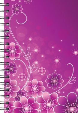 Floral Pattern Journal - Medium