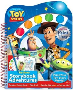 Disney/Pixar Toy Story: Diecut Book w/Pull-Out Paint Palette