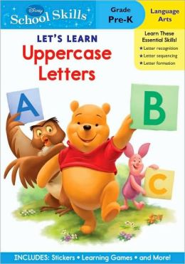 Winnie the Pooh Let's Learn Uppercase Letters