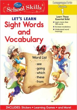 Let's Learn Sight Words & Vocabulary Grade 1