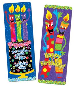 Birthday Candles, Bookmarks