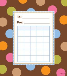 Dots On Chocolate, Student Incentive Chart