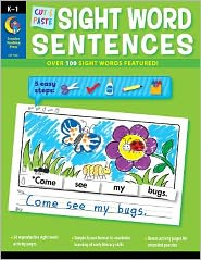 Cut and Paste Sight Word Sentences: Over 100 Sight Words Featured!