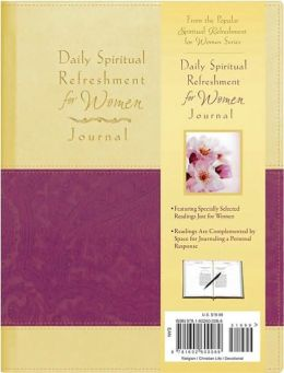 Daily Spiritual Refreshment for Women Journal