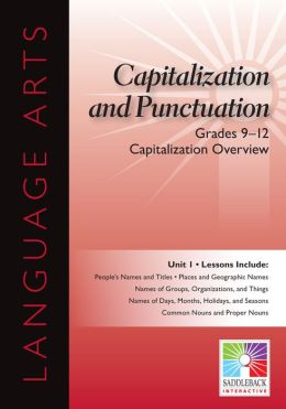 Capitalization Overview Interactive Whiteboard Resource
