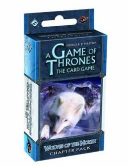 A Game of Thrones the Card Game: Wolves of the North Chapter Pack Reprint