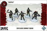 Dust Tactics: Ssu Nkvd Close Combat Squad Miniatures