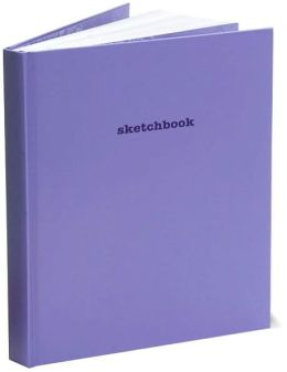 Purple Basic Sketchbook 8
