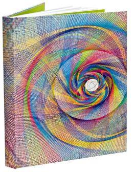 Strings Multi Colored Sketchbook 8 x 11