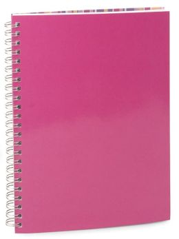 Pink Lined Notebook (6