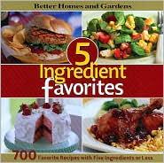 5 Ingredient Favorites
