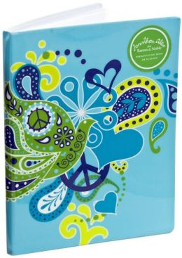 Jonathan Adler Blue Love Dove PVC Presentation Book (8.5x11)