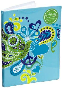 Jonathan Adler Blue Love Dove PVC Presentation Book (8.5x11)
