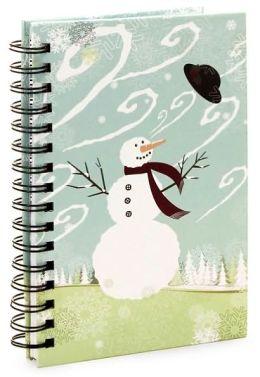 Christmas Snowman Journal - Medium