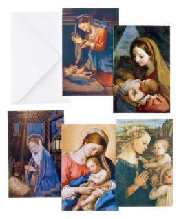 Madonna And Child Christmas Boxed Card