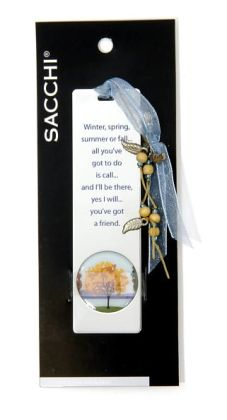 Nature Tree Metal Bookmark