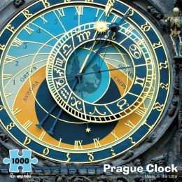 Prague Clock 1000 Piece Puzzle