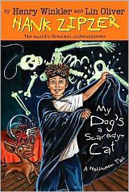 My Dog's a Scaredy-Cat: A Halloween Tail (Hank Zipzer Series #10)