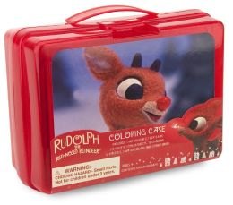 Rudolph the Red-Nosed Reindeer Coloring Case