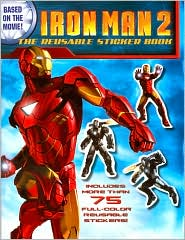 Iron Man 2: The Resusable Sticker Book