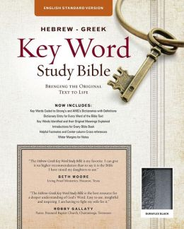 Hebrew-GreekKey Word Study Bible: English Standard Version, Duraflex Black Thumb-Indexed