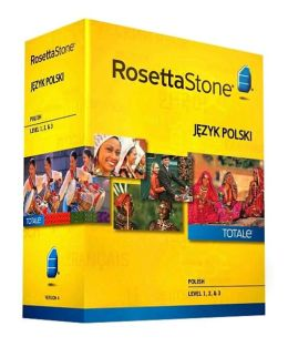 Rosetta Stone Polish v4 TOTALe - Level 1, 2 & 3 Set - Learn Polish