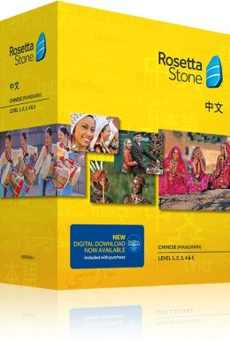 Rosetta Stone Chinese v4 TOTALe - Level 1, 2, 3, 4 & 5 Set - Learn Chinese