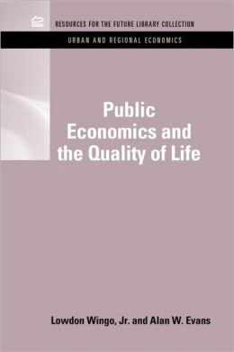 Public Economics and the Quality of Life