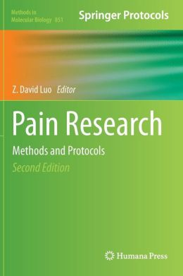 Pain Research: Methods and Protocols