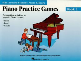 PIANO PRACTICE GAMES BOOK 1 Hal Leonard Student Piano Library