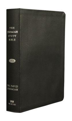 The Jeremiah Study Bible, NKJV: Genuine Black Leather: What It Says. What It Means. What It Means For You.