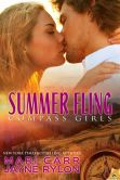 Book Cover Image. Title: Summer Fling (Compass Girls Series #3), Author: Mari Carr