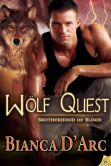 Book Cover Image. Title: Wolf Quest, Author: Bianca D'Arc