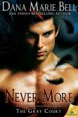 Book Cover Image. Title: Never More, Author: Dana Marie Bell