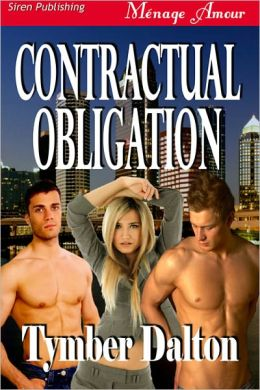 Contractual Obligation (Siren Publishing Menage Amour)