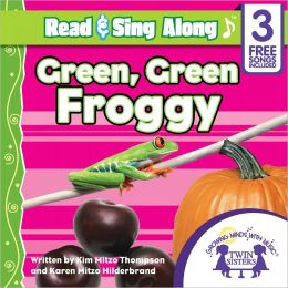 Green, Green Froggy Read & Sing Along [Includes 3 Songs]