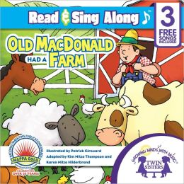 Old MacDonald Had A Farm Read & Sing Along [Includes 3 Songs]