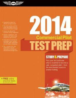 Commercial Pilot Test Prep 2014 Book and Tutorial Software Bundle