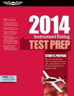 Instrument Rating Test Prep 2014 Book and Tutorial Software Bundle