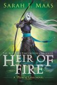 Book Cover Image. Title: Heir of Fire, Author: Sarah J. Maas
