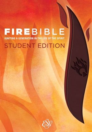 Fire Bible Student Edition, Brick Red/Plum