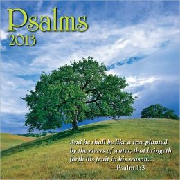 2013 Psalms Mini Wall Calendars